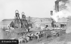 Haden Hill Colliery c.1890, Old Hill