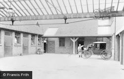 Inn Courtyard At Haden Cross c.1900, Old Hill