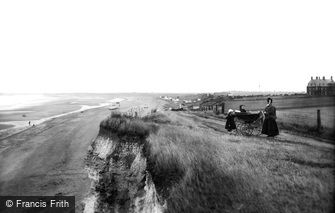 Old Hunstanton, the Cliffs 1907