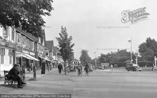 Old Malden, Plough Green c1955