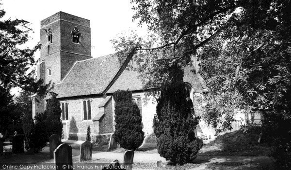Old Malden, St John's Church c1960