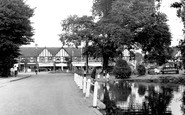 Old Malden, the Pond c1955