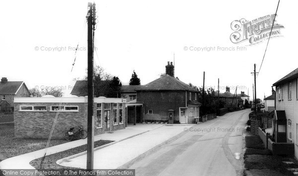 Old Newton, Finningham Road c1965