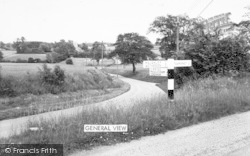 Old Newton, General View c.1965