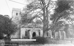Old Newton, Parish Church c.1965