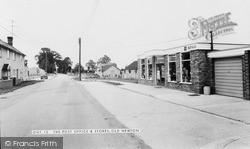 Old Newton, The Post Office And Stores c.1965
