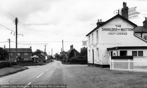 Old Newton, The Shoulder of Mutton c1965