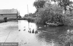 Old Newton, The Village Road c.1965