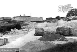 Old Sarum, Chapel Of St Nicholas And Castle Well 1913