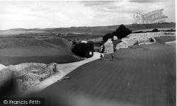 Old Sarum, The Castle Ruins c.1965