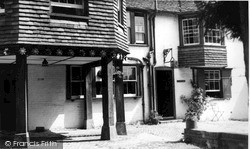 Old Sarum, The Old Castle Inn c.1955