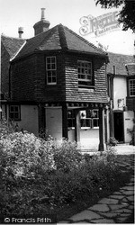 Old Sarum, The Old Castle Inn c.1965