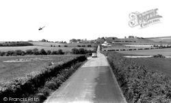 Old Sarum, The Old Roman Road c.1965
