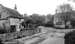 Cotswold Lane c.1955, Old Sodbury