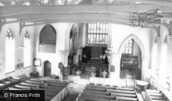 Old Swinford, St Mary's Church, Interior c.1965