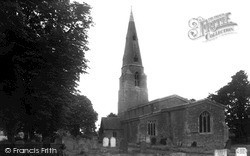 Old Weston, St Swithin's Church c.1955
