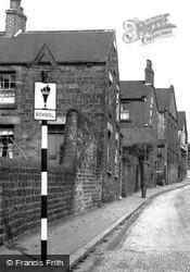 Church Street North c.1955, Old Whittington