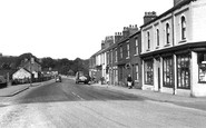 Old Whittington, High Street c1955