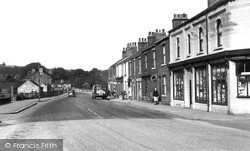 Old Whittington, High Street c.1955