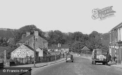 High Street c.1955, Old Whittington