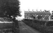 Old Whittington, Miners Cottages c1955