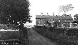 Old Whittington, Miners Cottages c.1955