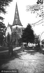 Old Whittington, St Bartholomew's Church c.1955