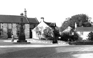 Old Whittington, the Cenotaph and Revolution House c1955