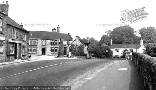 Old Whittington, the Monument c1955