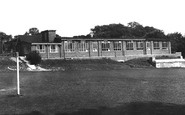 Old Whittington, the New School c1955