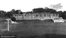Old Whittington, The New School c.1955