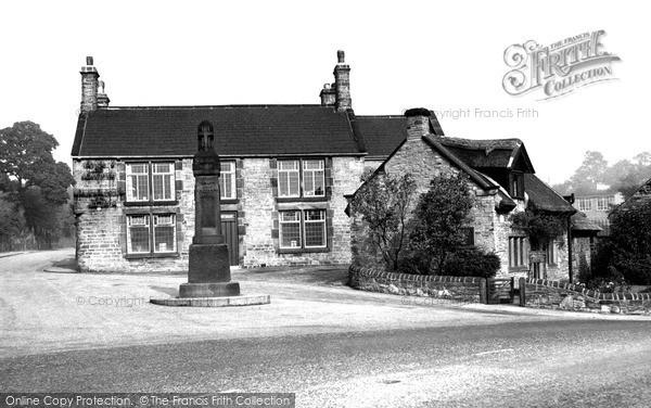 Old Whittington, the Revolution House c1955