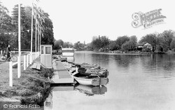 Old Windsor, The Landing Stage c.1955