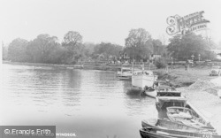 Old Windsor, The River c.1955