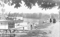 Old Windsor, The Towpath c.1955