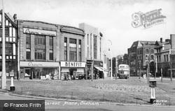 Market Place c.1950, Oldham