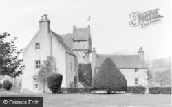 Oldmeldrum, Mounie Castle c.1965