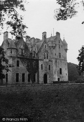 Oldmeldrum, Udney Castle 1950