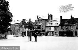 Olney, Market Place c.1900