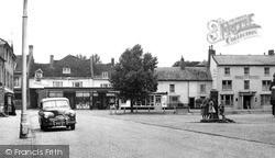 Olney, Market Place c.1955