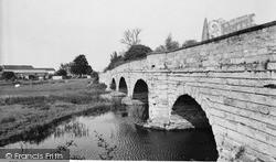 Olney, The Bridge c.1960