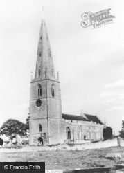 Olney, The Church Of St Peter And St Paul c.1960
