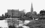 Olney, the Mill c1955