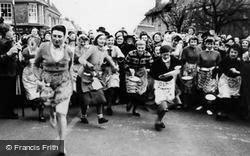 Olney, The Pancake Race c.1955