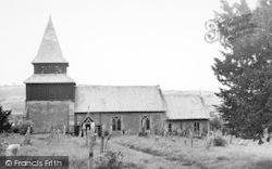 Orcop Hill, The Church c.1955