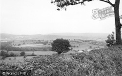 Orcop Hill, View From Saddlebow Common c.1955