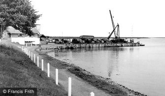 Orford, the Quay c1950