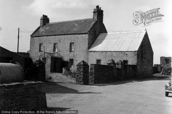 Photo of Orkney, Birsay Manse 1954