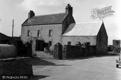 Orkney, Birsay Manse 1954, Orkney Islands