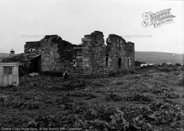 Photo of Orkney, Breckness House 1954